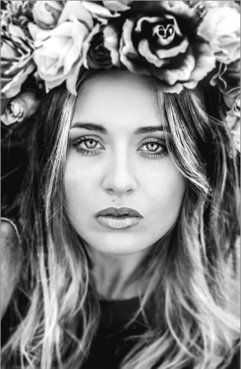 Couronne de fleurs le shoot de lola mya photography for Couronne de fleurs