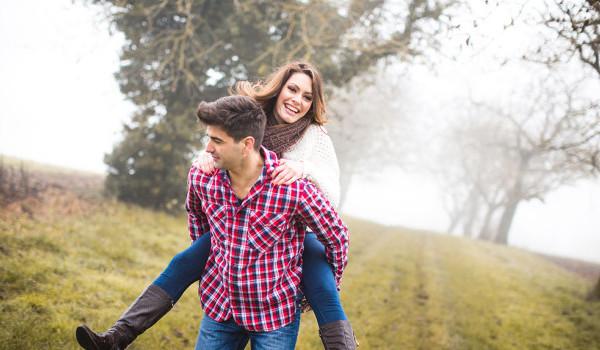 Photos de couple en Hiver : {Elise & Benjamin}