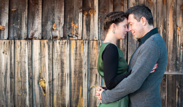 Photos de couple en automne : {Marie & Nicolas}