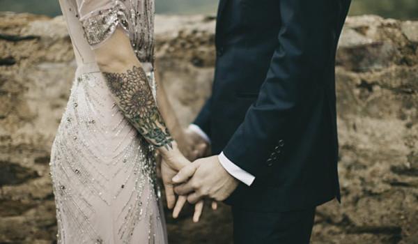 Thème : La mariée est tatouée et alors ?