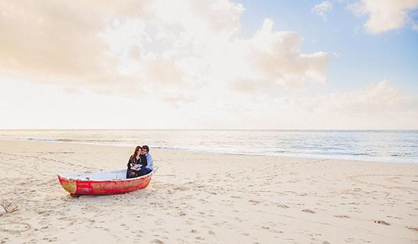 Séance de grossesse à la plage : { Fanny & Olivier }