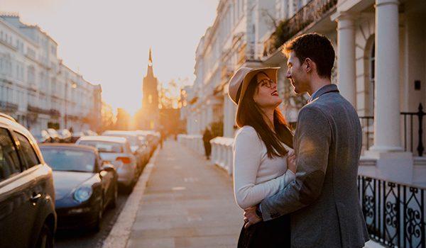 Séance de couple à Notting Hill : {Typhaine & Vincent}