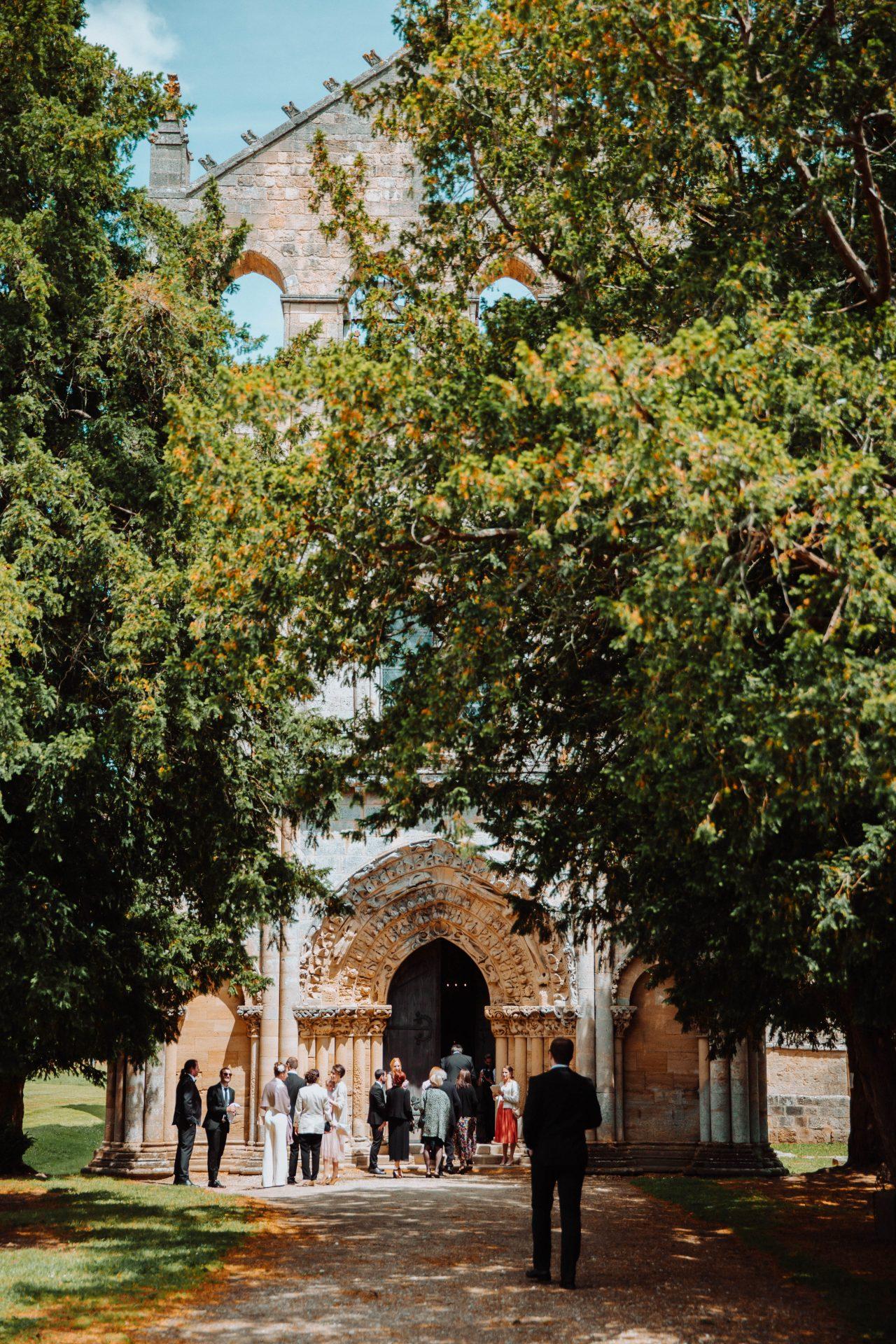Mariage Abbaye de Blasimon