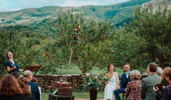 Mariage à la montagne:{Claire & Cédric}