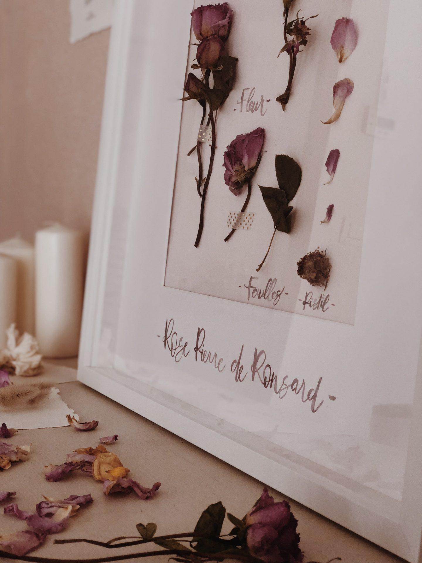 Bouquet de la mariée séché