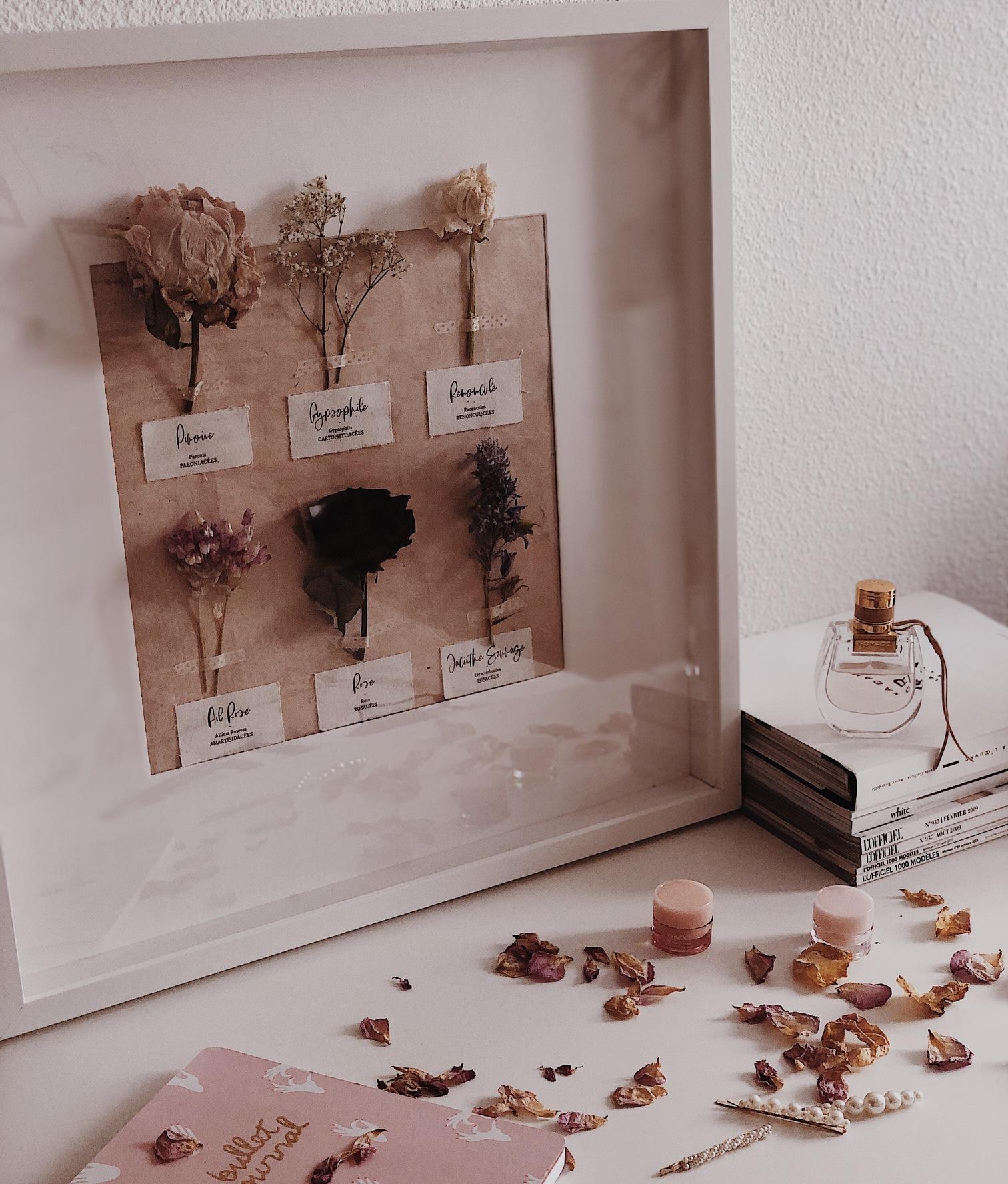Cadeau fleurs original
