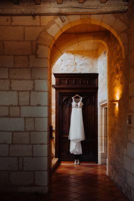 Robe de la mariée - Elise Martimort